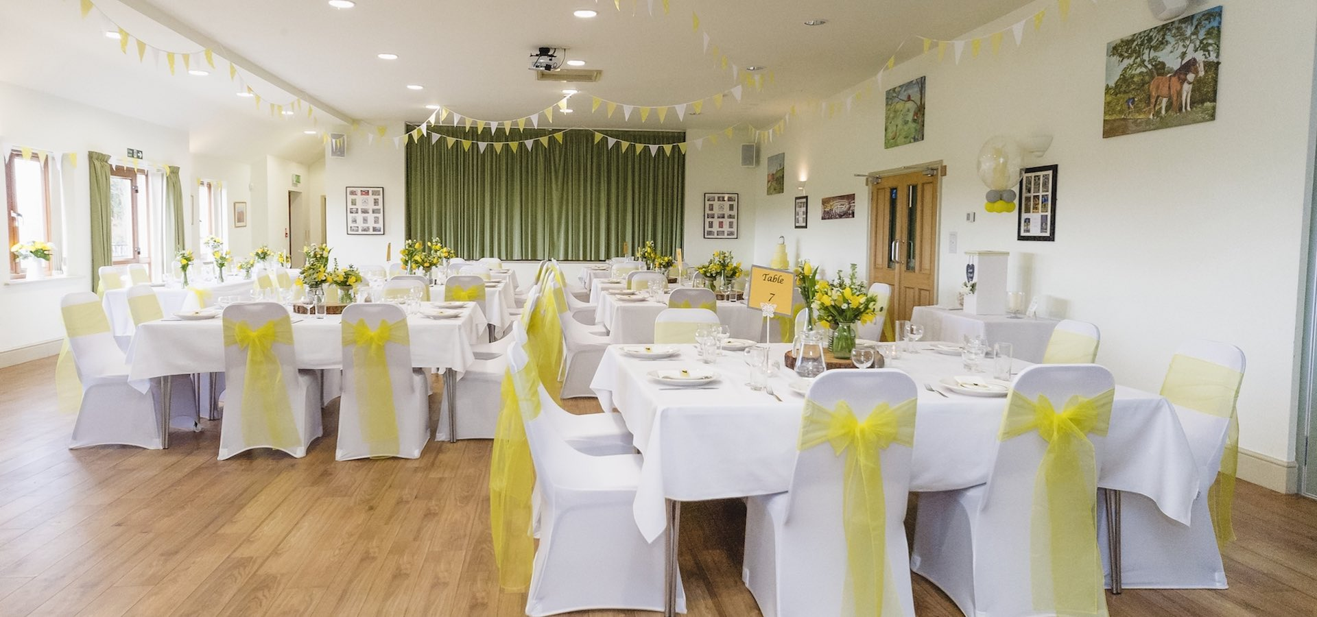 Blymhill and Weston Under Lizard Village Hall Wedding Venue 1