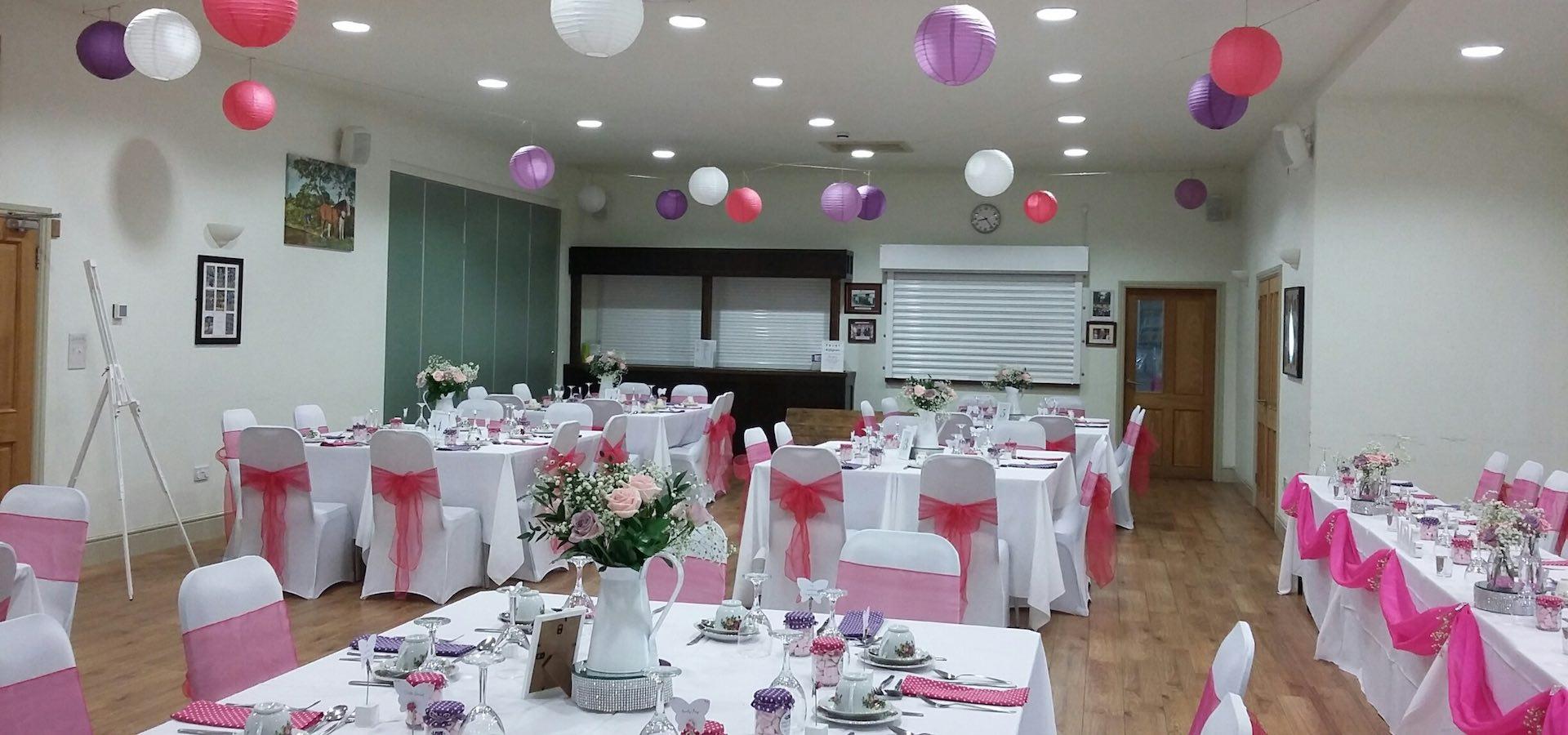 Blymhill and Weston Under Lizard Village Hall Wedding Venue 5